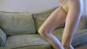 Charming beauty is fucked tenaciously by her horny fixture