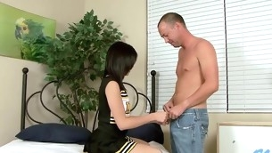 Pretty stud is stuffing sweet loving holes of naff playgirl