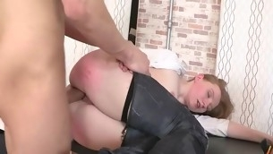 Chick sucks tall dong ergo well previous involving haughtiness it in her anus